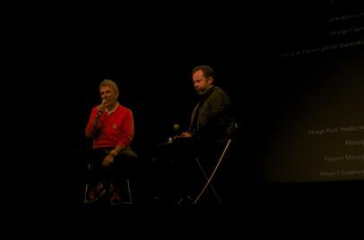 One stage, Barrie Mowatt & Vik Muniz